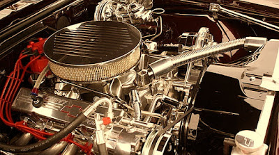 1967 Chevrolet Camaro SS Pro Touring Engine