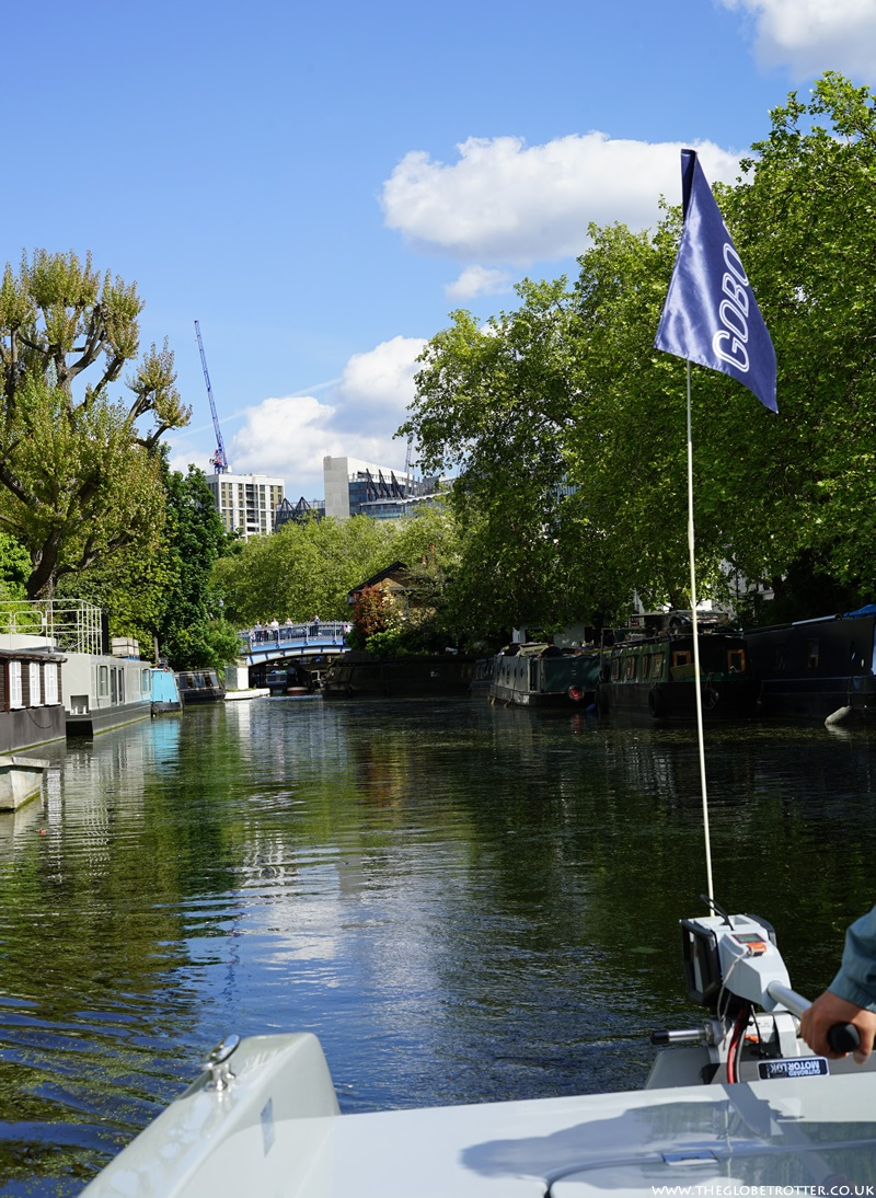 GoBoat - Electric Canal Boat Hire In London Paddington