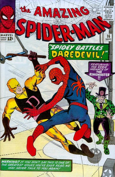 Amazing Spider-Man #16, Daredevil and the Circus of Crime