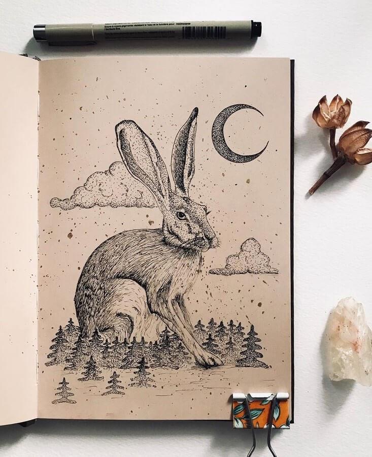 03-The-hare-and-the-moon-Ewa-Skuta-www-designstack-co