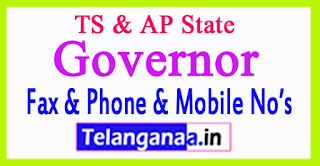 TS AP Governor Contact Phone Number