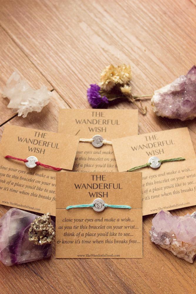 The Wanderful Wish Bracelet - The Wanderful Soul