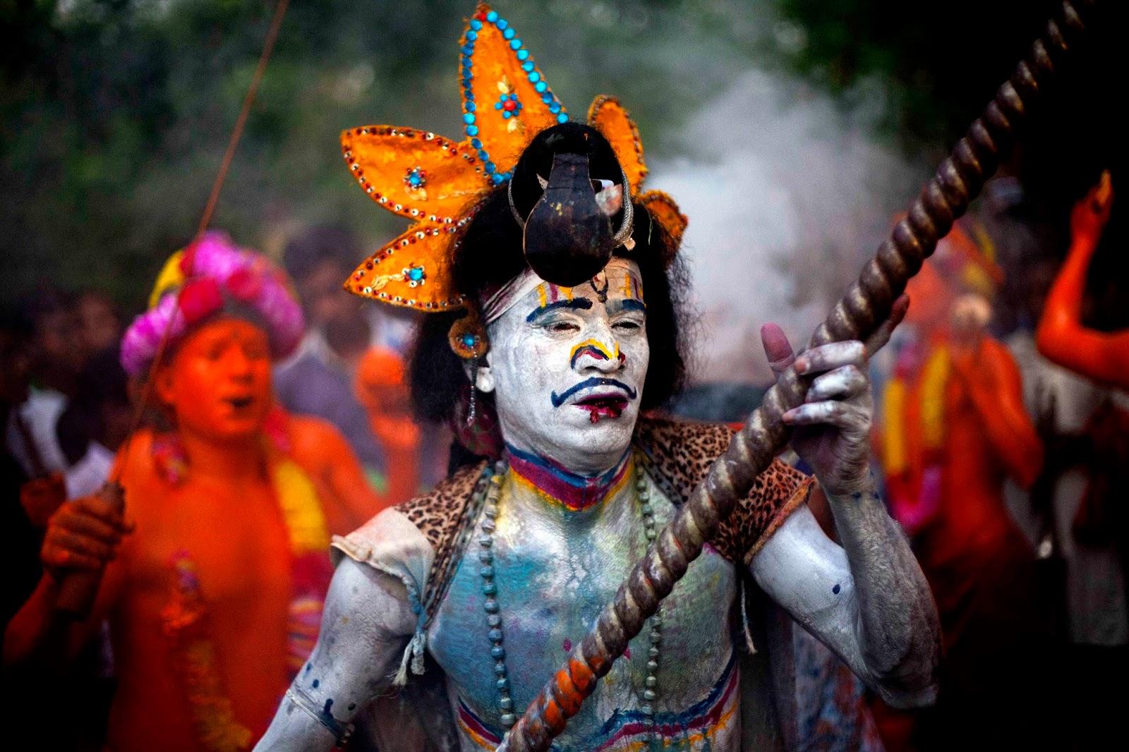 Lal Kach a festival of show power against evil