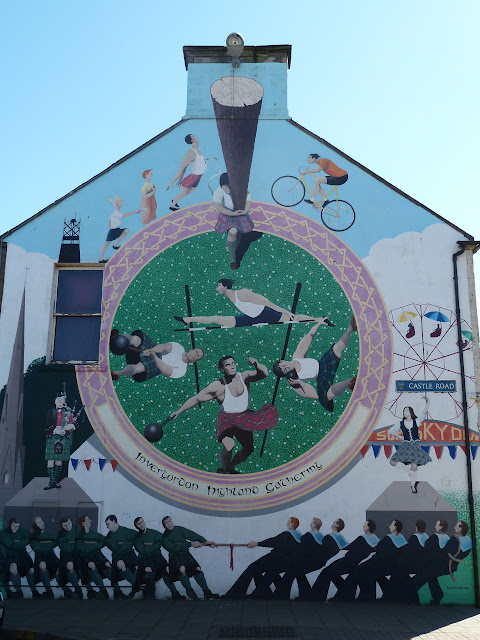 Invergordon Mural Tour Cruise Britain Ports of Call Scotland