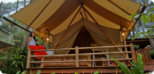 Glamour+Camping+Pondok+Rasamala