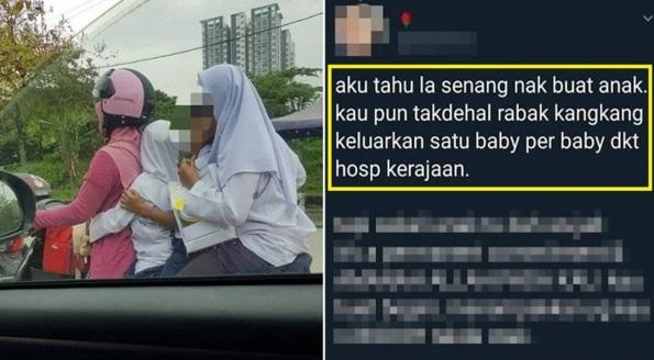 M4ti kena lenyek mungkin anak kau  Gadis Berhijab Dihentam Teruk Sebab Kutuk Ibu Bawa Motor Ini