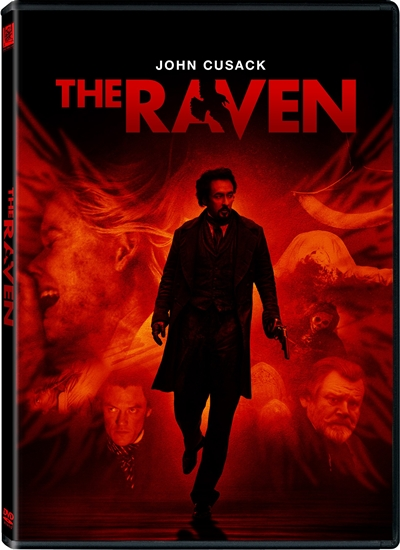 The Raven DVDR NTSC Español Latino Menú Full 2012