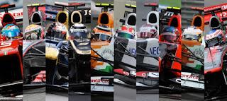 Pilotos de Formula Uno F1