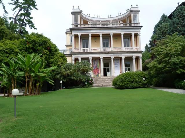 oude villa aan het Lago Maggiore
