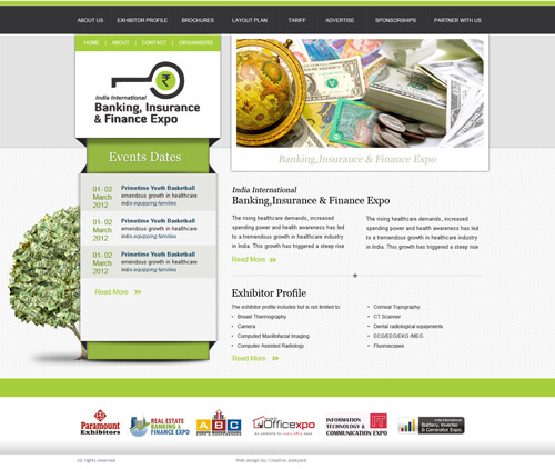 Banking Website Design
