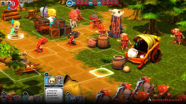 Super Dungeon Tactics Gameplay Screenshot 3