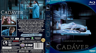 CARATULA CADÁVER - CADAVER - THE POSSESSION OF HANNAH GRACE - 2018 BLU RAY