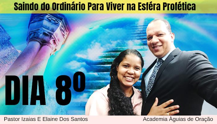 💫 8º DIA: Saindo do Ordinário Para Viver na Esféra Profética I O céus lutam por mim este ano