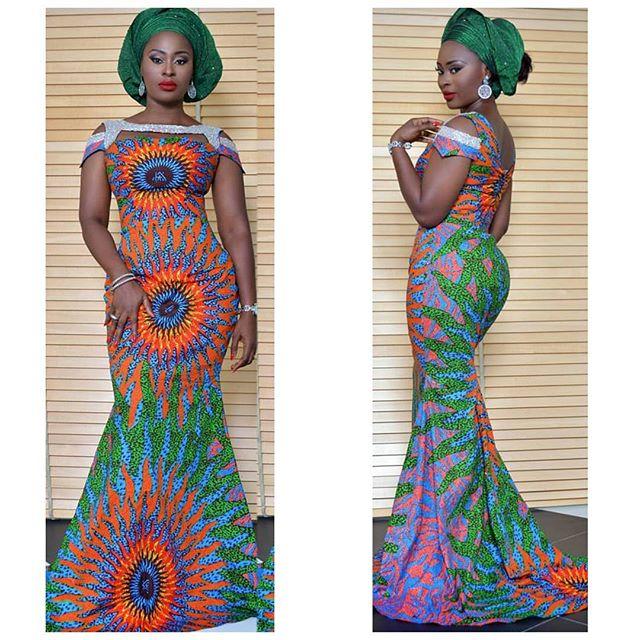 Ankara Long Gown Design for Ladies - DeZango Fashion Zone