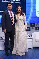 Madhuri Dixit Nene in designer Anarkali Dress at FICCI Awards 2017 017.JPG