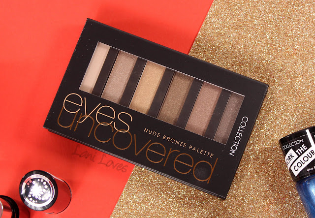 Collection Eyes Uncovered Nude Bronze Palette swatches & review