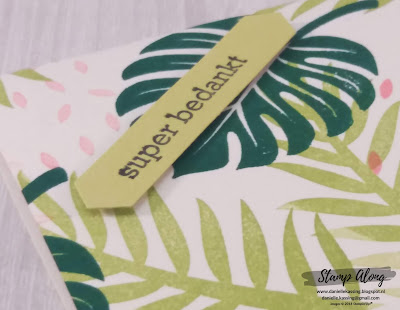 Stampin'Up! Tropical Chick matchbox