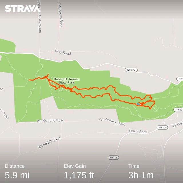 Robert H. Trehman State Park Trail Map Strava