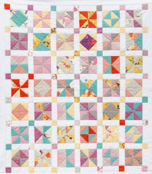 My First Quilt - A Study in Half Square Triangles   Shannon Fraser Designs   Modern Quilting  
