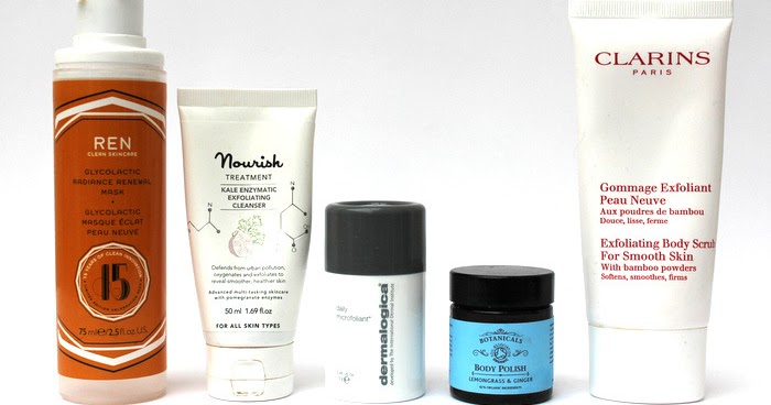 The Best Exfoliating Products For Face And Body One Little Vice