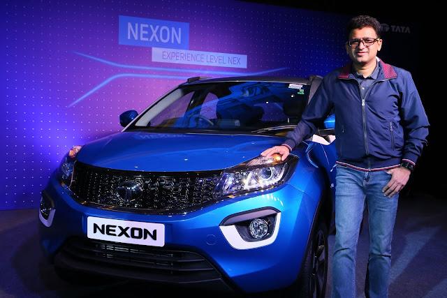 Tata Motors launches its much-awaited lifestyle SUV - Tata NEXON