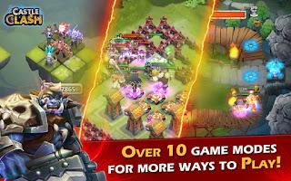 Download game Castle Clash Apk + Mod