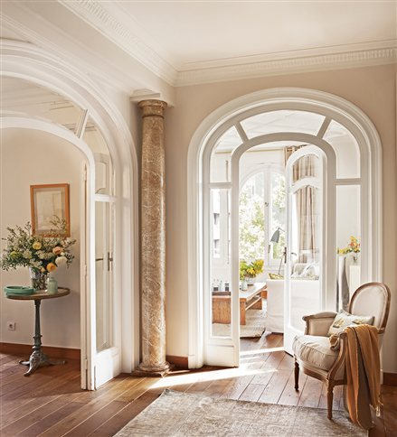 Decorilumina las puertas y entradas en arco lucen mejor for Entradas francesas