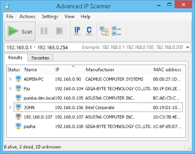 Advanced IP Scanner Full Version