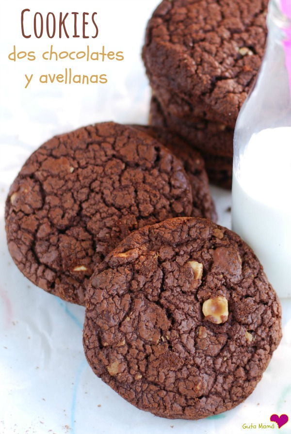cookies chocolate avellanas
