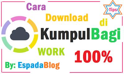 Cara Download File Dari Kumpulbagi Work 100% 5