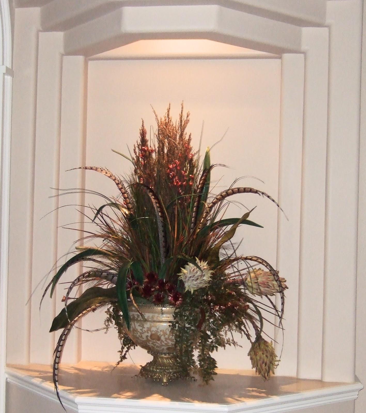 AnaSilkFlowers: Pictures! Silk Flowers Arragements Home