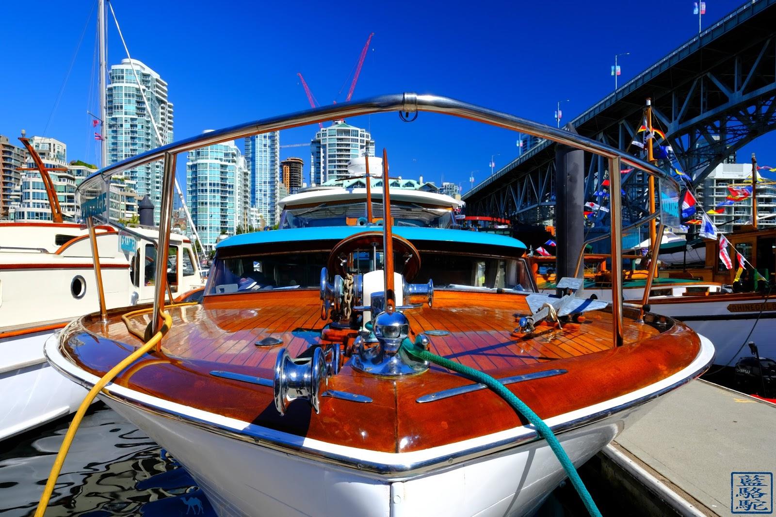 Le Chameau Bleu - Bateau de Granville Island - Vancouver