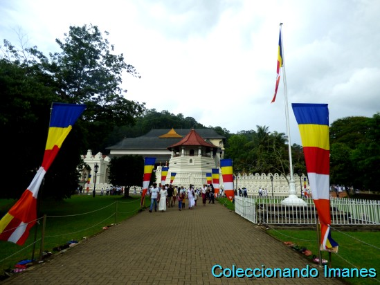 Templo del diente en Kandy