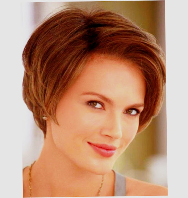 Short Hairstyles For Round Big Faces Picture Preview