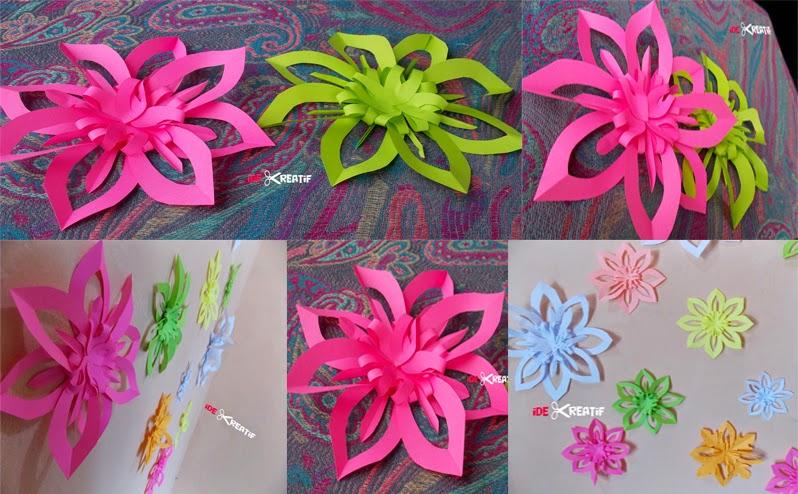 Cara membuat origami serpihan salju (snowflakes) - CAPCAPUNG