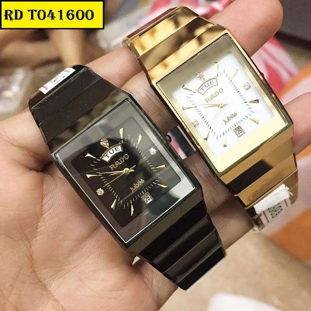 Đồng hồ nam mặt chữ nhật Rado RD T041600