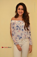 Actress Pragya Jaiswal Latest Pos in White Denim Jeans at Nakshatram Movie Teaser Launch  0032.JPG