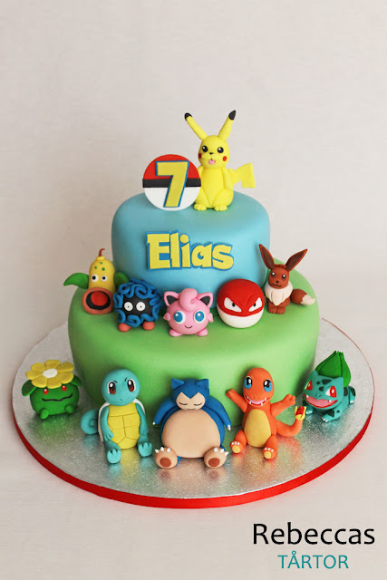Pokemon tårta
