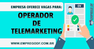 Operador de Telemarketing