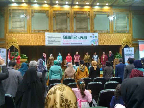 Seminar Sehari Parenting dan PAUD Hadirkan Pembicara Kawakan dari Indonesia