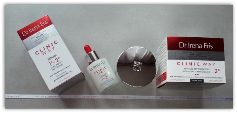 Clinic Way – apteczne kosmetyki przeciwzmarszczkowe Dr Irena Eris – moje pierwsze wrażenia