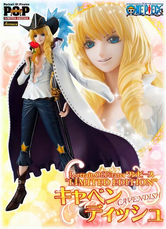 CAVENDISH LIMITED EDITION EXCELLENT MODEL P.O.P FIGURE ONE PIECE MEGAHOUSE
