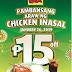 Mang Inasal marks Pambansang Araw ng Chicken Inasal on Jan. 26 with P15 off on select Chicken Paborito Value meals
