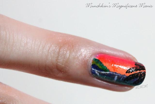 Tropical Nail Design