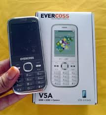 Evercoss V5A Spesifikasi dan Harga