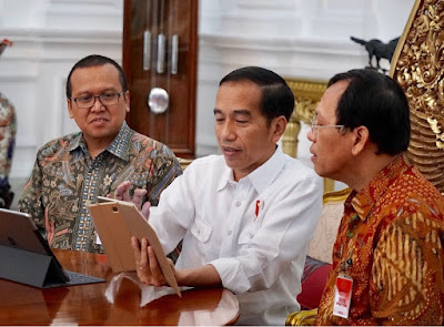 Presiden Jokowi ke Cilamaya Wetan Karawang
