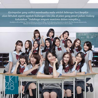 Lirik Lagu JKT48 - Indahnya Senyum Manismu