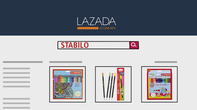 Stabilo on Lazada