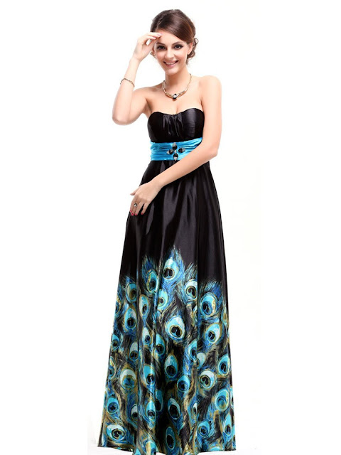 Peacock Wedding Ideas and Supplies: Peacock Prom Dresses 2012