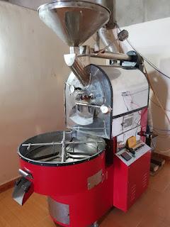 Máy rang cafe